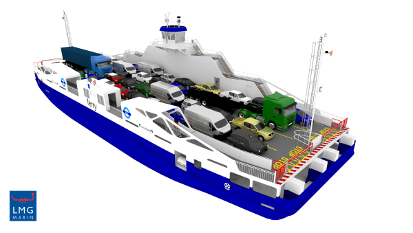 LMG Marin signs a Design Contract for two innovative Battery-Hybrid ferries for Transport for London