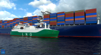 Contract for our first LNG Bunkering Vessel (LBV) design