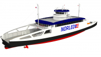 LMG Marin signs a Design Contract for three Double Ended Diesel Electric Hybrid ferries for Norled built at Sembcorp Marine in Singapore