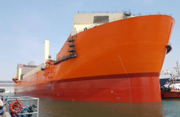 Maersk's Culzean FSO launched