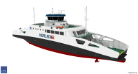 LMG Marin designs two hydrogen prepared ferries for Norled